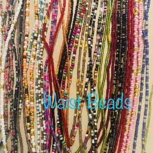Waist beads. They come ready made.